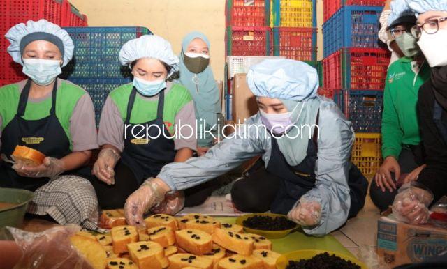 Sambang Produsen Roti dan Kerupuk Amplang di Wonoayu, Istri Bupati dapat Keluhan Pungli Perizinan Bebani UMKM di Sidoarjo