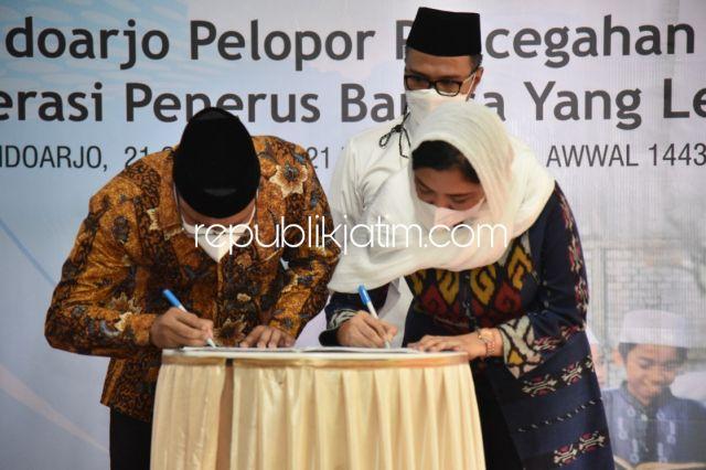 Pemkab Sidoarjo Jalin Kerjasama dengan Perusahaan Farmasi Tangani Gizi Buruk dan Stunting
